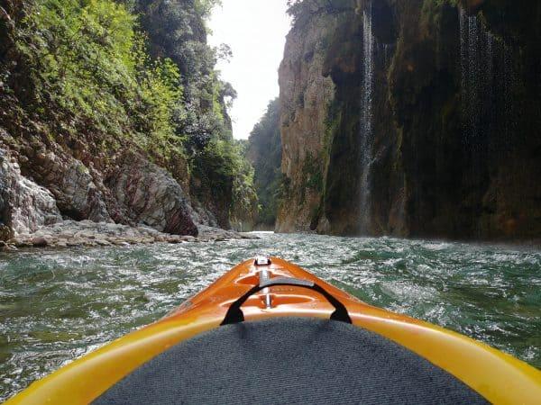 water kayaking